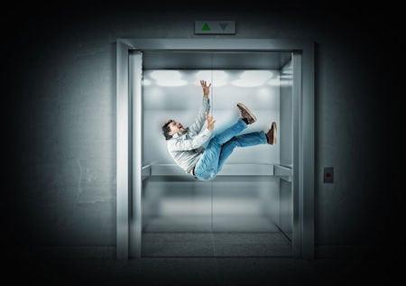 Como funciona o freio de segurança dos elevadores em caso de queda?
